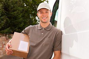 DE55 parcel collection service in Lane End