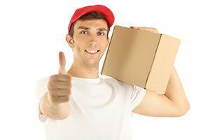 DE65 parcel delivery prices Repton