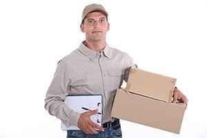 DG13 parcel delivery prices Langholm