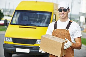 business delivery services in Holton le Clay