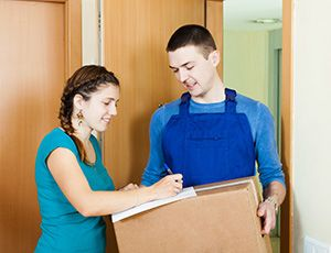 Seaton package delivery companies EX2 dhl