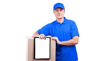 GL15 parcel collection service in Bream