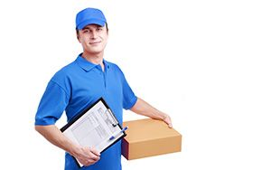 Coleford package delivery companies GL16 dhl