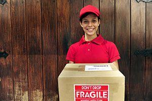 Surrey parcel deliveries GU21