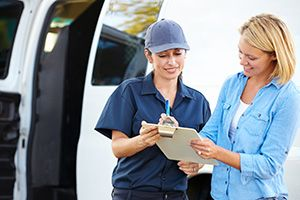 Compton package delivery companies GU9 dhl