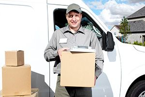 Huddersfield package delivery companies HD1 dhl