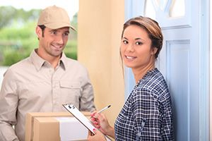 business delivery services in Woolpit