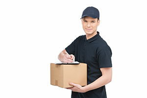 Prestwick package delivery companies KA9 dhl