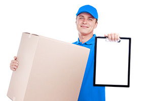 LA2 parcel collection service in Caton