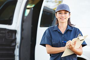 Leicestershire package delivery companies LE5 dhl