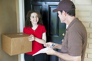 Skellingthorpe package delivery companies LN6 dhl