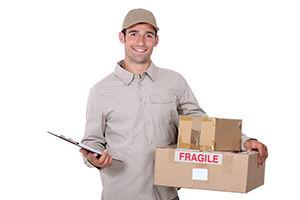 Rhymney large parcel delivery NP22