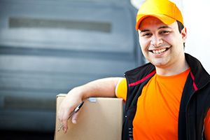 Mulbarton package delivery companies NR14 dhl