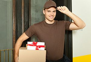 Hethersett package delivery companies NR9 dhl