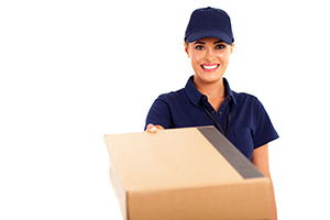 Gosport package delivery companies PO12 dhl