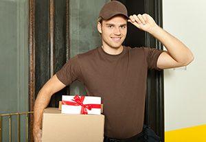 SK5 parcel delivery prices Brinnington Station