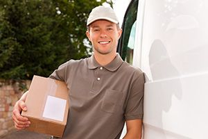 Carshalton package delivery companies SM5 dhl