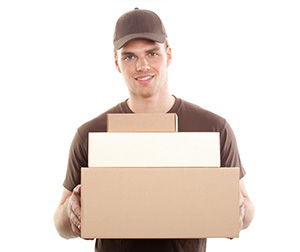 Hampshire package delivery companies SO22 dhl