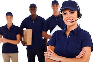 Larkhill package delivery companies SP4 dhl