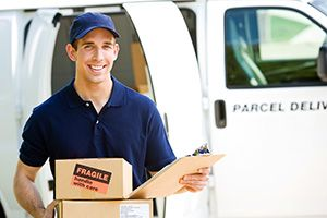 W1 parcel delivery prices Piccadilly