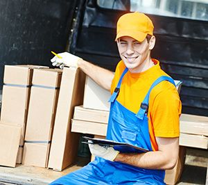 Rugeley package delivery companies WS15 dhl
