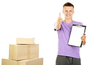 courier service in Amble cheap courier