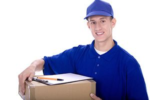 courier service in Knighton cheap courier