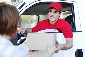 LA4 ebay courier services Lancaster