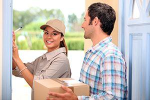 LL14 ebay courier services Ruabon