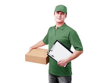 HD8 ebay courier services Shepley Shelley